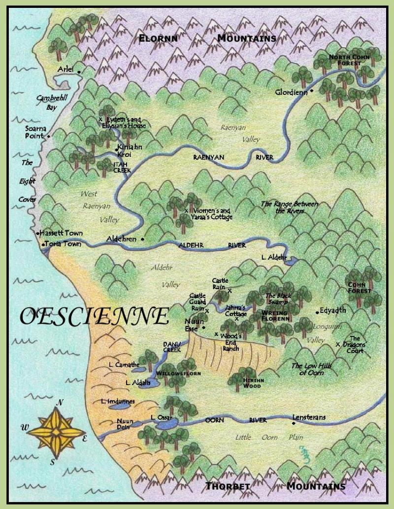 Map of Oescienne